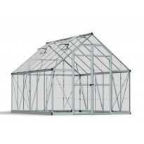 Kasvihuone Palram-Canopia Octave, 8,9m², 8x12, hopea