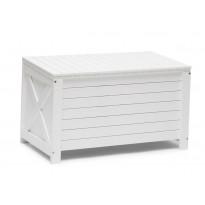 Säilytyslaatikko Läckö, valkoinen