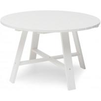 Pöytä Hillerstorp Läckö Ø120cm, valkoinen