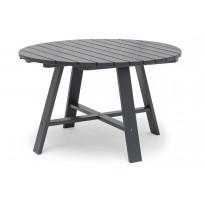 Pöytä Läckö, Ø120cm, tummanharmaa