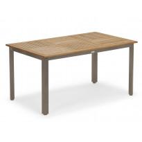 Pöytä, Nydala, 96x150cm, champagne/puu (159096)