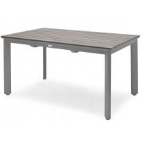 Pöytä Hillerstorp Nydala 90x200/280cm, harmaa 20990088