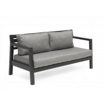 Sohva Stoltö, 3-istuttava, harmaa/tummanharmaa