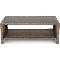 Lounge-pöytä Hillerstorp Wisconsin, 110x58cm, hiekka