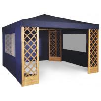 Paviljonkiseinä Hillerstorp De Luxe umpinainen, sininen 352330