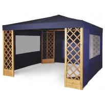 Paviljonkikatos Hillerstorp De Luxe, sininen 3535330, Tammiston poistotuote