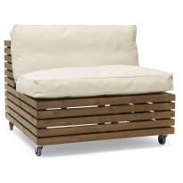 Istuinpehmuste Hillerstorp Bara Vara lepotuoliin, beige 42892150