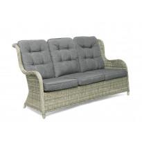 Sohva Hillerstorp Hampton (3-h sohva) polyrottinki, vaaleanharmaa 43933