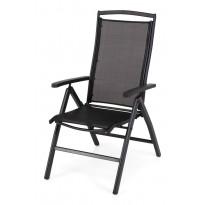 Nojatuoli Nydala, säädettävä, musta (461144)