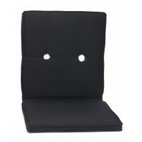 Istuinpehmuste, matala, 60cm, musta (55070)