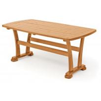 Pöytä Hillerstorp Skagen 90x165cm, hunaja 56192, Tammiston poistotuote