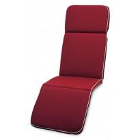 Aurinkotuolin istuinpehmuste Hillerstorp, punainen 61320