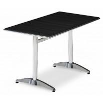Pöytä Alunda, 120X70cm, musta