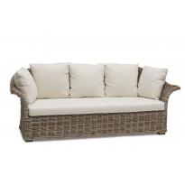Sohva Edsklinta, 3-istuttava, harmaa/ruskea