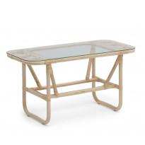 Pöytä Lyckesö, 50x110cm, luonnonvärinen