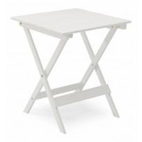 Pöytä Vaxholm, 63x63cm, taitettava, valkoinen
