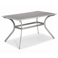 Pöytä Tylösand, 80x140cm, hopea