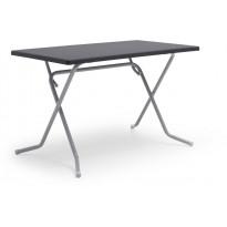 Retkipöytä Hillerstorp Eredu, 70x115cm, harmaa, Verkkokaupan poistotuote