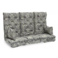 Istuinpehmuste Dalom pihakeinuun, 174x128x10cm, beige kasmirkuviointi