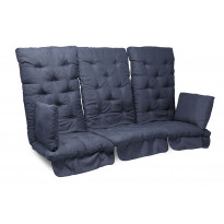 Istuinpehmuste Dalom pihakeinuun, 174x128x10cm, sininen