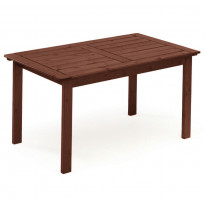 Pöytä Sofiero, 80x135cm, tummanruskea