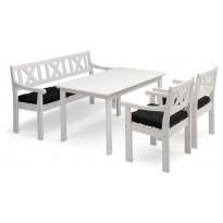 Pöytä Hillerstorp Läckö, valkoinen 8813577