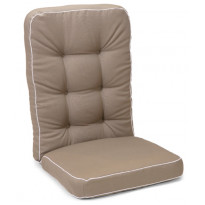 Istuinpehmuste Hillerstorp Texas, korkea, beige 90060