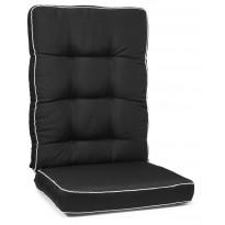 Istuinpehmuste Hillerstorp Texas, korkea, musta 90070