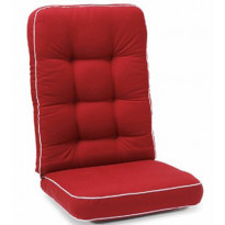 Istuinpehmuste Texas, korkea, punainen (90320)