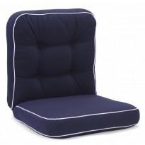 Istuinpehmuste Texas, matala, sininen (91341)