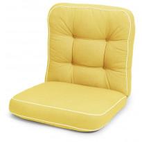 Istuinpehmuste Hillerstorp Texas, matala, keltainen 914125