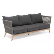 Sohva Himmelsnäs, 3-istuttava, harmaa/tiikki