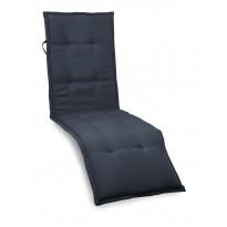 Istuinpehmuste kankaiseen aurinkotuoliin Hillerstorp, 190x50x5cm, sininen