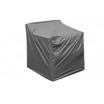 Suojapeite nojatuolille Stoltö, 80x76x81cm, harmaa