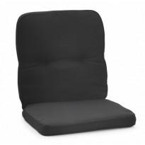 Istuinpehmuste Milano, matala, musta (97070)