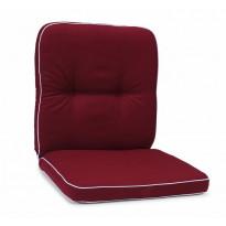 Istuinpehmuste Milano, matala, punainen (97320)