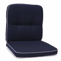 Istuinpehmuste Milano, matala, sininen (97341)