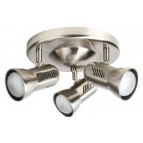 Kattospotti Heat Alfa-Easy, 360x180mm, 3-osainen, harjattu teräs