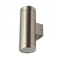 Seinävalaisin Heat Steel ylös/alas, 105x210mm, IP44, teräs