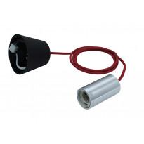 Lampunjohto Heat Wire Kit, 1,2m, kangasjohto, punainen