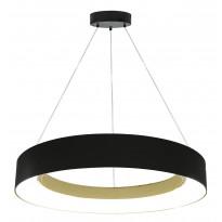 LED-riippuvalaisin Heat Halo, Ø40cm, musta
