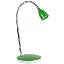 LED-pöytävalaisin Heat Flex LED 41cm, turkoosi