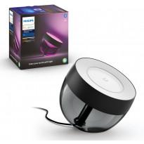 LED-pöytävalaisin Philips Hue Iris, musta