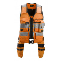 Työkaluliivi Snickers Workwear AllroundWork 4230, LK 1, oranssi