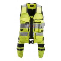 Työkaluliivi Snickers Workwear AllroundWork 4230, LK 1, keltainen