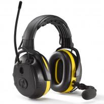 Kuulosuojaimet Hellberg Secure 2 Synergy, sangalla, Bluetooth, radiolla