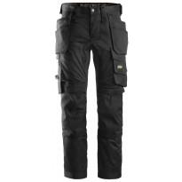 Työhousut Snickers Workwear AllroundWork 6241 Stretch, musta