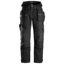 Riipputaskuhousut Snickers Workwear FlexiWork Goretex 37.5 6580, musta