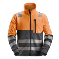 Fleecetakki Snickers Workwear AllroundWork 8035, LK 2, oranssi