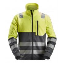 Fleecetakki Snickers Workwear AllroundWork 8035, LK 2, keltainen